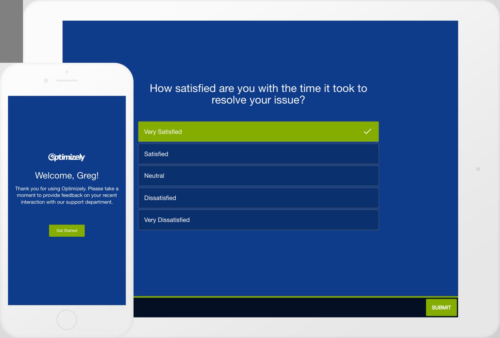 sample client satisfaction surveys