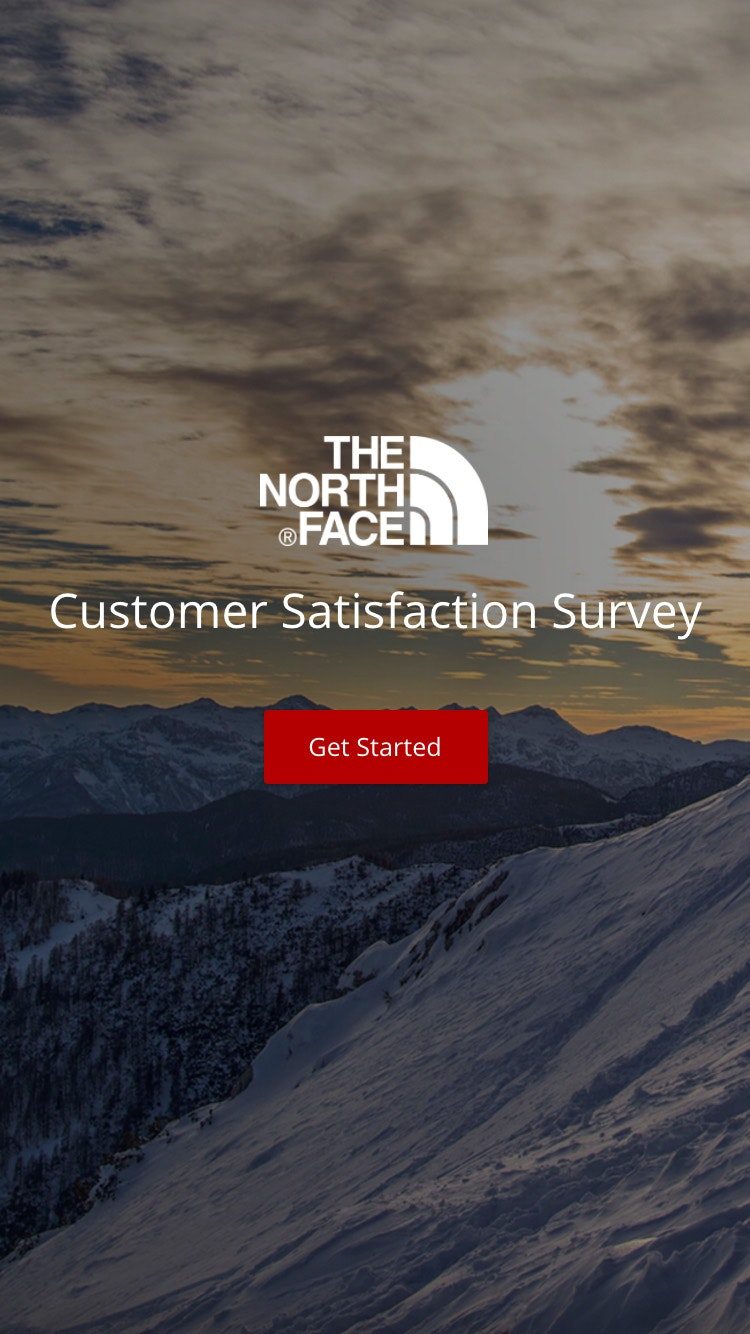 Survey northface 2