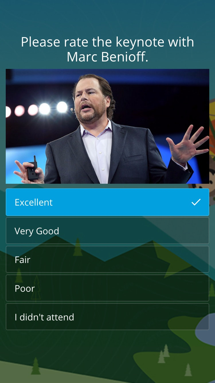 Survey dreamforce 4