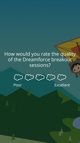 Survey dreamforce 5