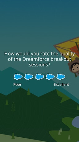Survey dreamforce 6