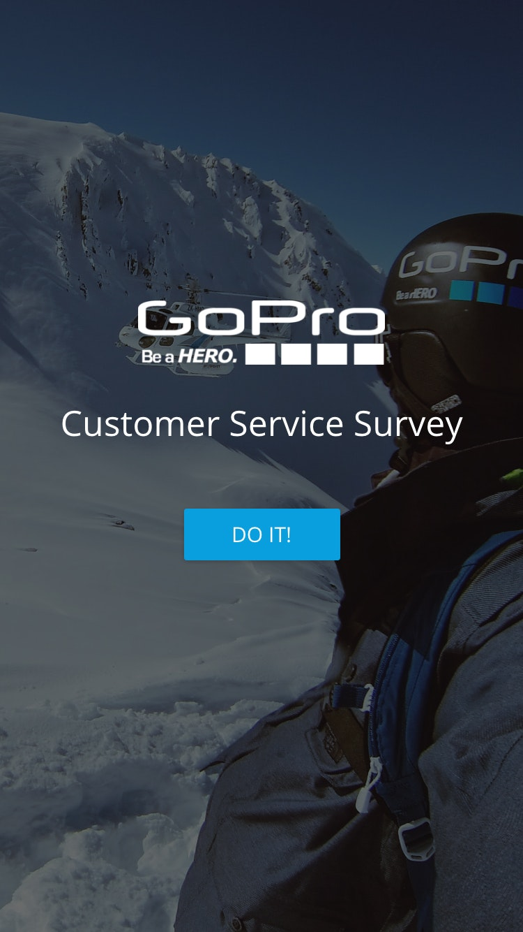 Survey gopro 1