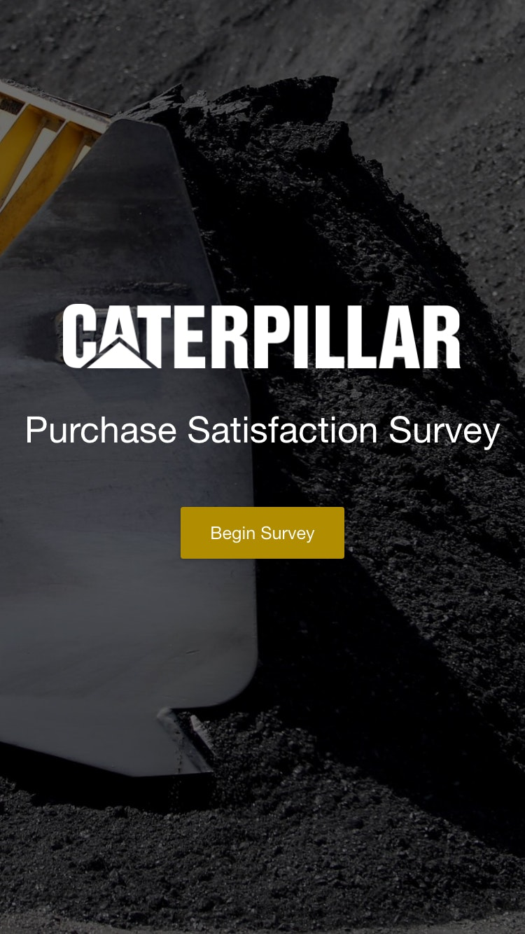 Survey caterpillar 2